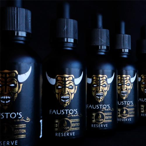 Drops Fausto´s Deal Reserve Edición Limitada 50ml (Shortfill)