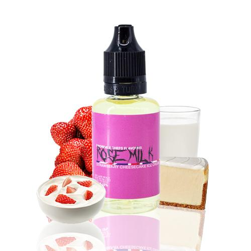 Diy or Die Aroma By Chefs Flavours Rose Milk 30ml