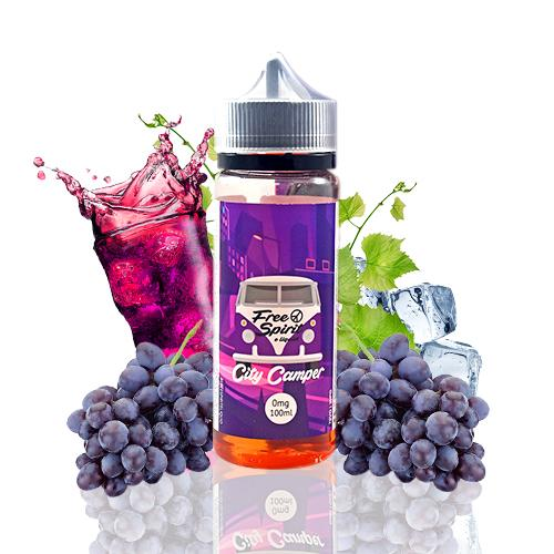 Free Spirit By Momo E-Liquid City Camper 100ml (Shortfill)