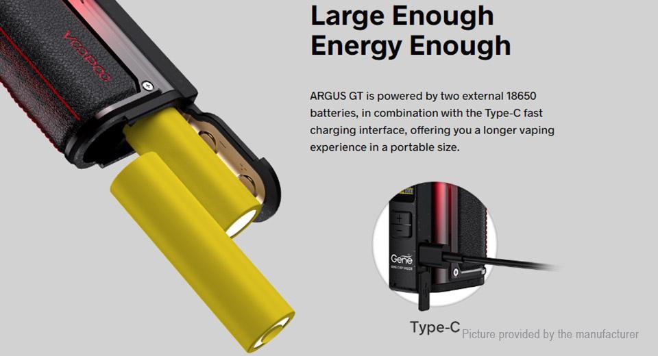 Baterías compatibles con Voopoo Argus GT: