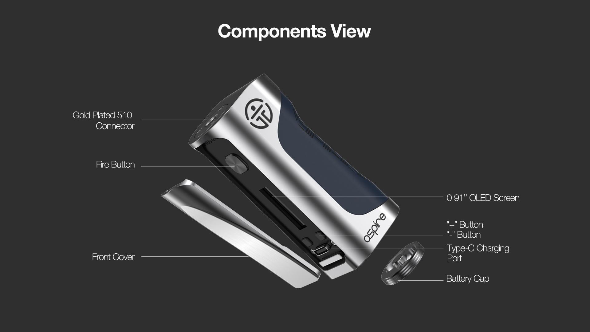 Componentes de Aspire Paradox Mod: