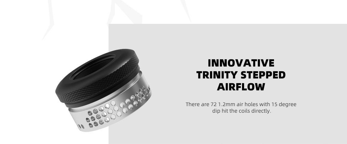 Innovador anillo panal de abejasde Hellvape Hellbeast RDA:
