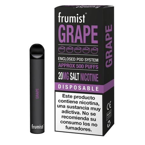 Frumist Disposable Grape 20mg